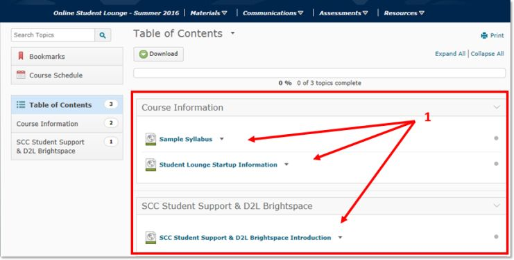 Learner Support DL Brightspace Introduction - South central d2l
